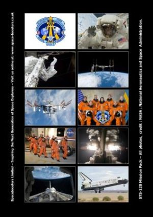 STS-128 NASA Space Shuttle Mission Photo Pack